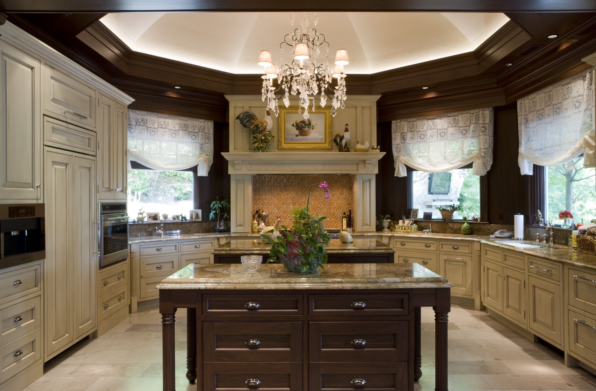 Manganaro, A&M-Kitchen- Greenfield- Traditional- Stain- Overall